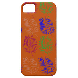 Exotic design leaves eco brown iPhone 5 cover