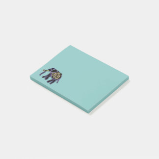 Exotic Elephant Post-it Notes