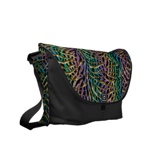 Exotic Fantasy Animal Print Commuter Bag