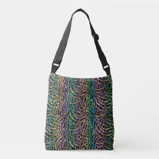 Exotic Fantasy Animal Print Crossbody Bag