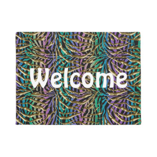 Exotic Fantasy Animal Print Doormat