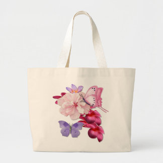 Exotic Floral for Mom Large Tote Bag