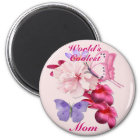 Exotic Floral for Mom Magnet