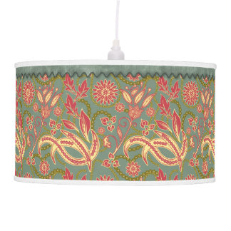Exotic Floral Hanging Lamps