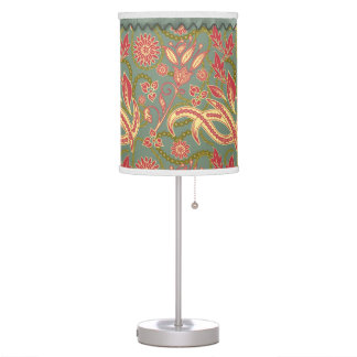 Exotic Floral Table Lamps