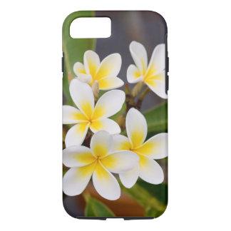 Exotic Frangipani flowers iPhone 7 Case