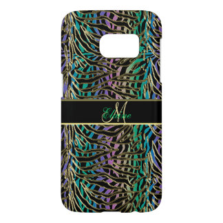 Exotic Gilded Space Alien Animal Print Samsung Galaxy S7 Case