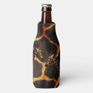 Exotic_Giraffe_Pattern,_Stubby_Cooler_Holder. Bottle Cooler