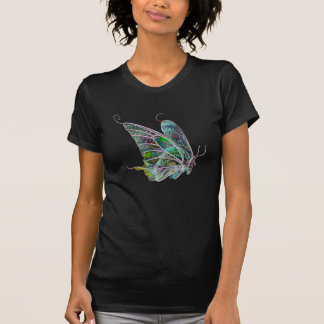 Exotic Glow Butterfly T-Shirt