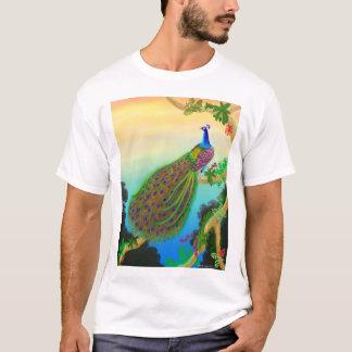 Exotic Green Peacock T-Shirt