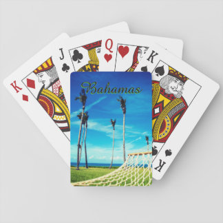 Exotic Hammock Ocean View Playing Cards