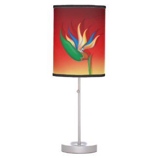 Exotic Heliconia Desk Lamps
