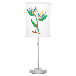 Exotic Heliconia Table Lamp