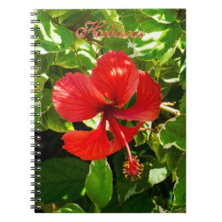 Exotic HIbiscus Notebook
