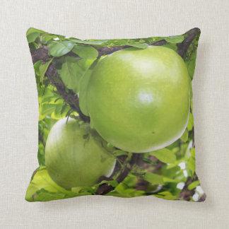 Exotic Maja fruits Throw Pillow