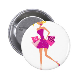 EXOTIC MODEL GIRL Creative t-shirts 2 Inch Round Button