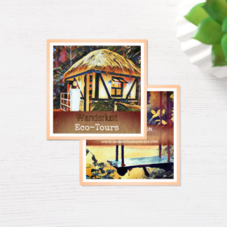 Exotic Nature Eco Travel & Tourism Business Card