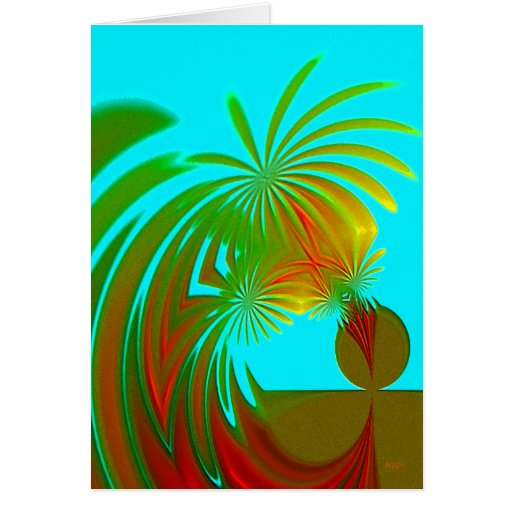 Exotic Palms Card