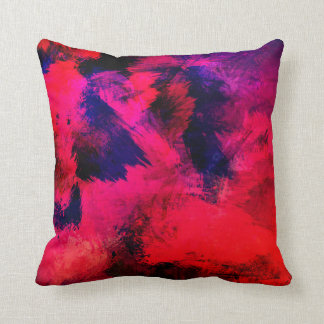 Exotic Passion Throw Pillow