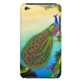 Exotic Peacock iPod Touch Barely There Case