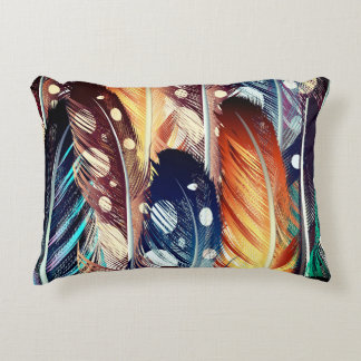 Exotic pillow with Feathers