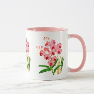 Exotic Pink Orchid Mug