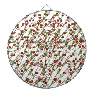 Exotic Red Chillies -  Super Chef Collection Dartboard With Darts