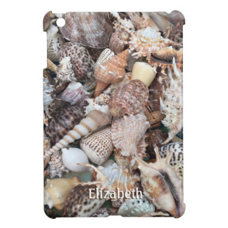 Exotic Seashell and Name Cover For The iPad Mini