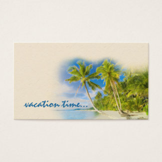 Exotic Travel Agency Business Card