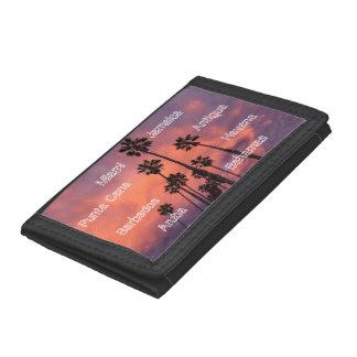Exotic TriFold Nylon Wallet