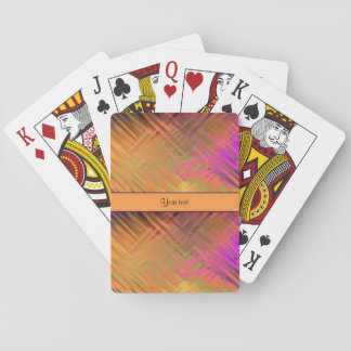 Exotic Tropical Purple Playing Cards