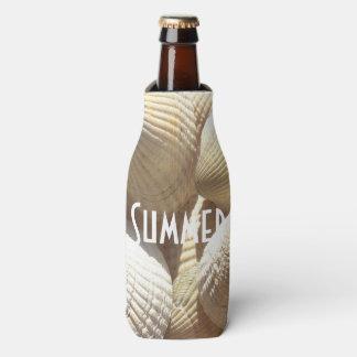Exotic Tropical Sea Shell Summer Beach Photography Bottle Cooler