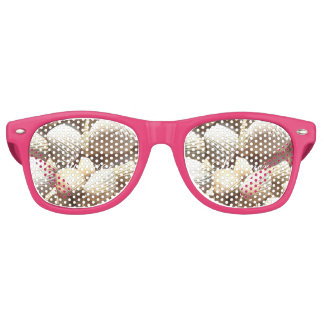 Exotic Tropical Sea Shells Summer Beach Theme Party Sunglasses