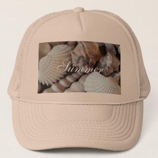 Exotic Tropical Summer Sea Shells Photography Trucker Hat