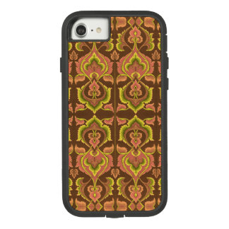 Exotic Vintage Autumn Colors Brown Green Yellow Case-Mate Tough Extreme iPhone 8/7 Case