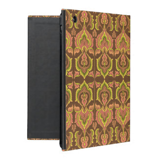 Exotic Vintage Autumn Colours Brown Green Yellow Case For iPad