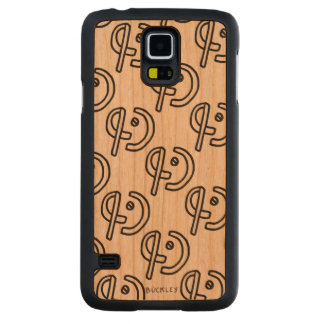"""Expand"" Wood Phone Case Cherry Galaxy S5 Slim Case"
