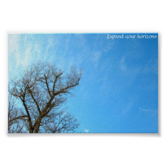 Expand your horizons poster