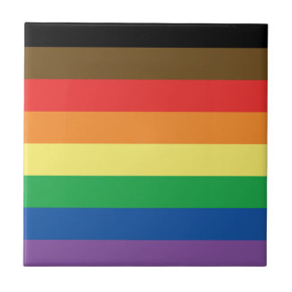 Expanded Gay Pride Rainbow Flag Customizable LGBT Tile