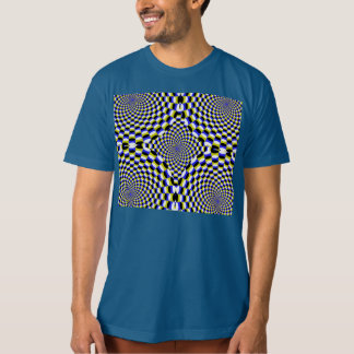 Expanding Optical Illusion T Shirt