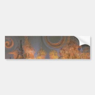 Expansion – Golden Shimmering City of Dream Bumper Sticker