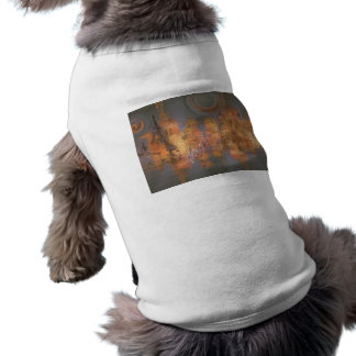 Expansion – Golden Shimmering City of Dream Doggie Tshirt