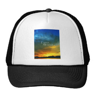 Expect Miracles! Mesh Hats