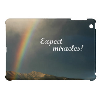 Expect Miracles! iPad Mini Cases