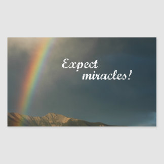 Expect Miracles! Sticker