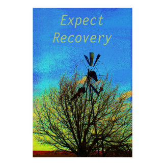Expect Recovery  Motivational Poster