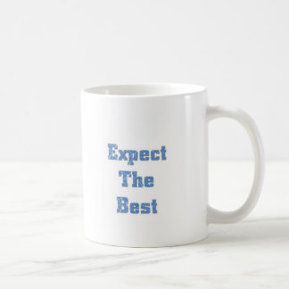 Expect the best coffee mug