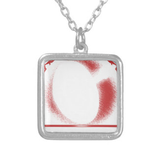 expect the x silver plated necklace
