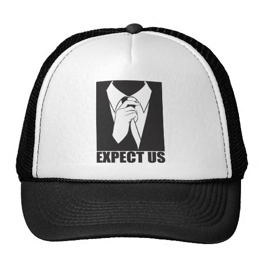 Expect us trucker hats