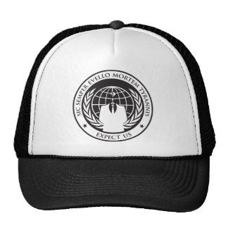 Expect us trucker hat